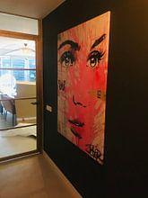 Photo de nos clients: IN THE PINK sur LOUI JOVER, sur toile