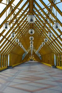 Pushkinsky Pedestrian Bridge