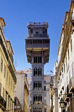 Lissabon: de Elevador de Santa Justa