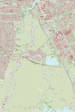 Kaart vanOuder-Amstel