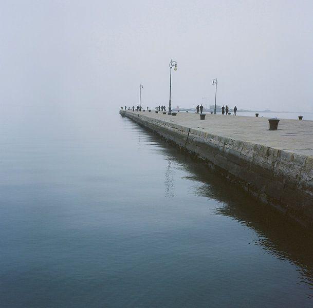 Journées nuageuses à Trieste sur Andreas Kilian