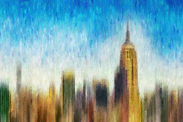 Skyline mit Empire State Building
