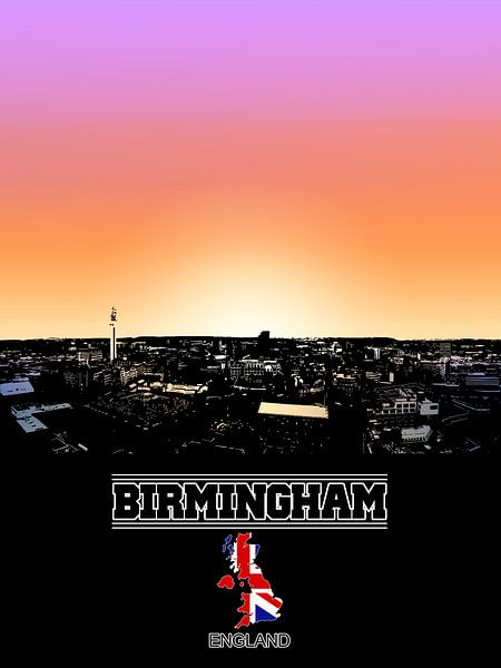 Birmingham von Printed Artings