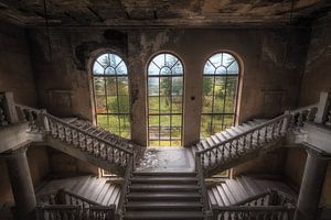 Verlassene Treppe