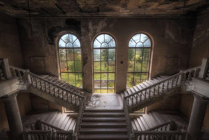 Verlassene Treppe von Maikel Brands