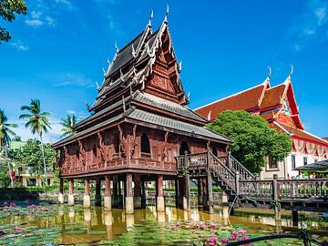 Ubon Ratchatani - Wat Thung Si Meuang.