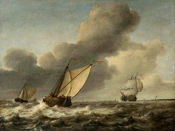Mer d'orage, Jan Porcellis sur