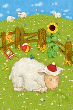 Mon drôle de mouton Lotta sur Marion Krätschmer