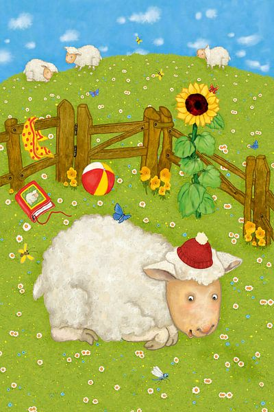 Mein lustiges Schaf Lotta von Marion Krätschmer