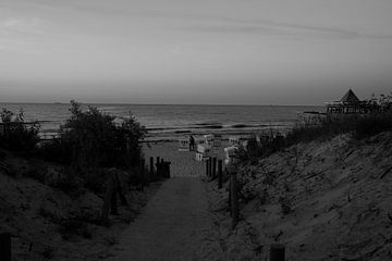 Beach Heringsdorf van