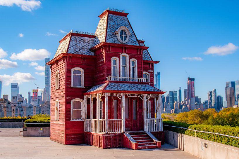 Haunted house New York van Thomas Bartelds