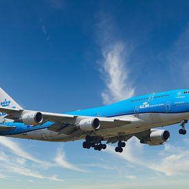 KLM PH-BFV Boeing 747-400M, Stadt Vancouver von Gert Hilbink