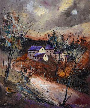 Dorf im Herbst von pol ledent