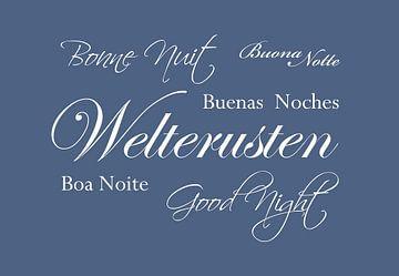 Bonne nuit - Bleu sur Sandra H6 Fotografie
