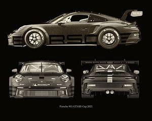 Porsche 911 GT-3 RS - Cup 2021 Seiten