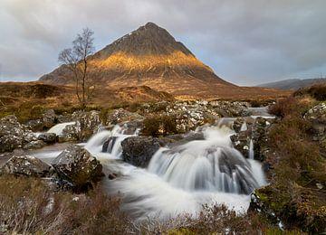 Buachaille Etive Mor Scotland van Jos Pannekoek