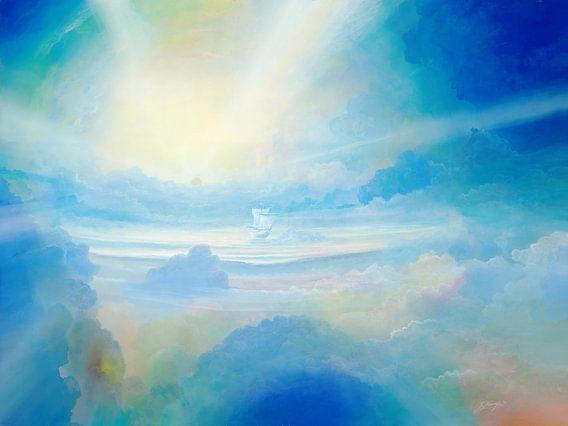 Wolkenmeer van Silvian Sternhagel