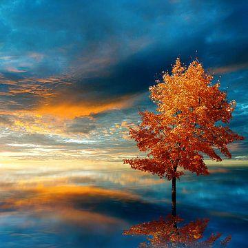 Blauer Herbst von Jacq Christiaan