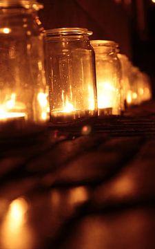kaarslicht bij nacht van maaike netten