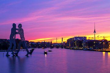 Berlin Skyline von Frank Herrmann