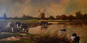 Farm pool von Aat Kuijpers