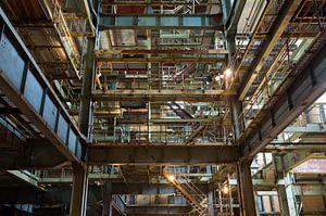 Een vervallen fabriek van Marian Sintemaartensdijk