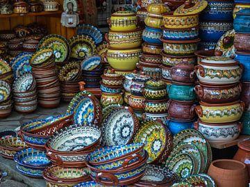 Bulgaars aardewerk van Daphne Elderenbos