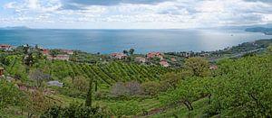 Evening over the Sicilian North Coast