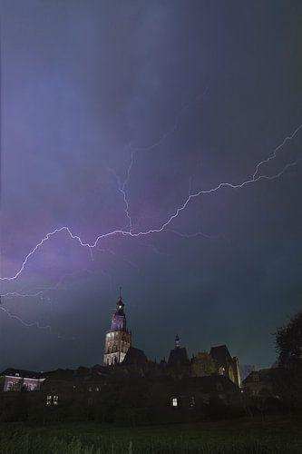 Storm boven Zutphen