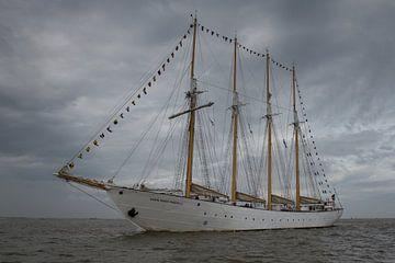 uitvarende zeilschip van Mart Marbus