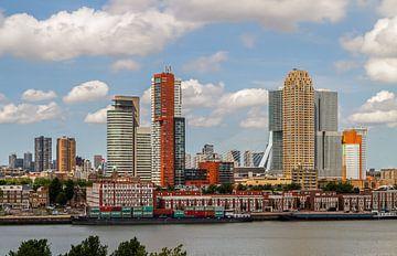 De Wilhelminapier in Rotterdam van MS Fotografie | Marc van der Stelt