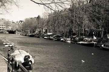 De amsterdamse gracht van Petra Brouwer