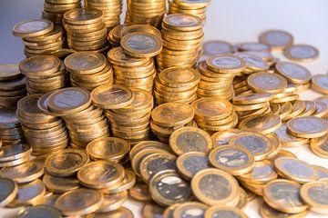 Veel munten van Achim Prill