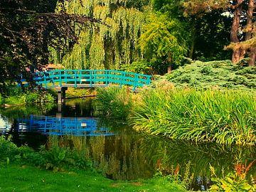 blue bridge von Francisco de Almeida