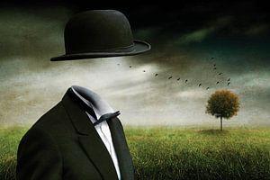 Treffen mit R. Magritte von Ben Goossens