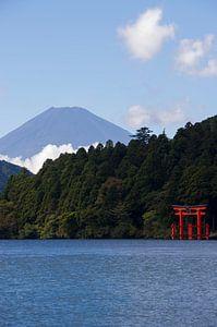 Fuji-san vanaf Hakone
