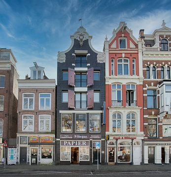 Fraaie panden aan de Amstel van Foto Amsterdam/ Peter Bartelings