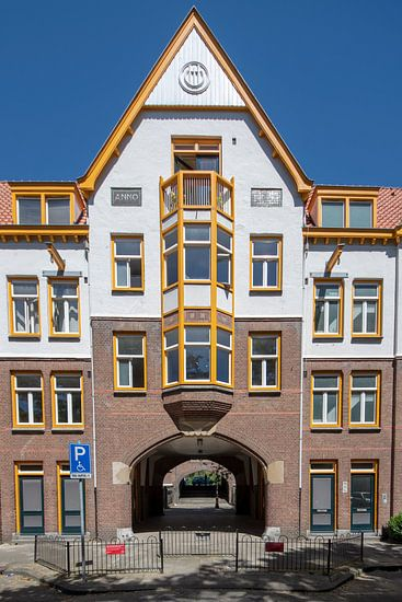 De Zaanhof Amsterdam van Amsterdam Fotografie (Peter Bartelings)