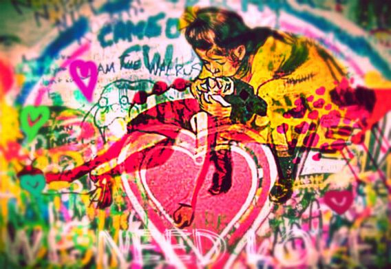 We need Love Street Art PUR