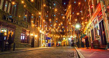 Cozy street lights van Fabian Bosman