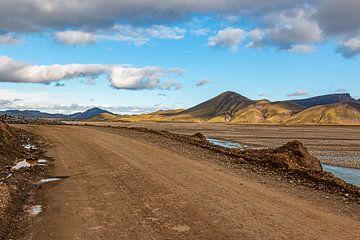 Weg nach Landmannalaugar von Thomas Heitz