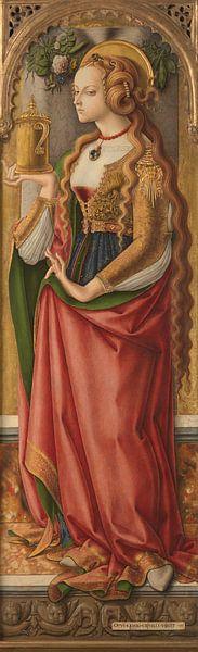 Maria Magdalena, Carlo Crivelli van Meesterlijcke Meesters