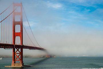 Golden Gate Brug, Californië van Guenter Purin