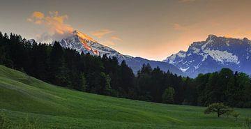 Der Watzmann Bergtesgaden van Arnold van Rooij