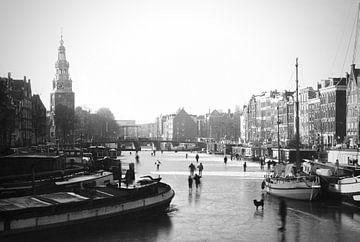 Amsterdam on ice von Dick Besse
