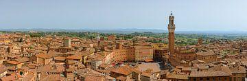 Panorama von Siena, Toskana, Italien