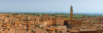 Blick über Siena, Toskana, Italien