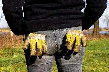 Handschoentjes uit de mouwen van Floris van Woudenberg