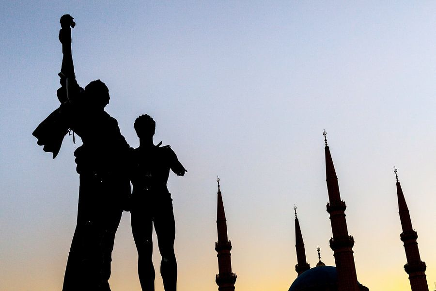 Martelaars' Monument - Beiroet, Libanon