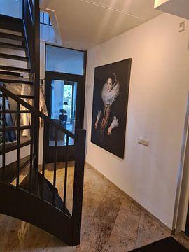 Kundenfoto: Porträt einer Frau, Michiel van Mierevelt